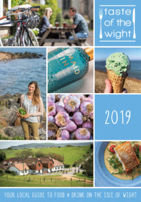 Taste of the Wight Issue 1: 2019 - Front Cover