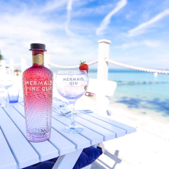 Mermaid Pink Gin, Taste of the Wight